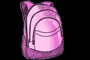 Dakine Schulrucksack Pink