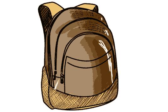 Schulrucksack vintage