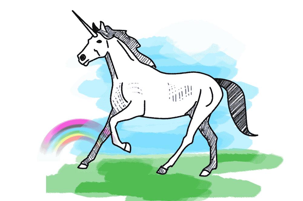 Einhorn Unicorn Schulranzen Motiv