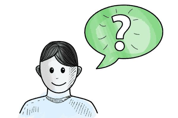 Ratgeber - Figur mit Fragezeichen