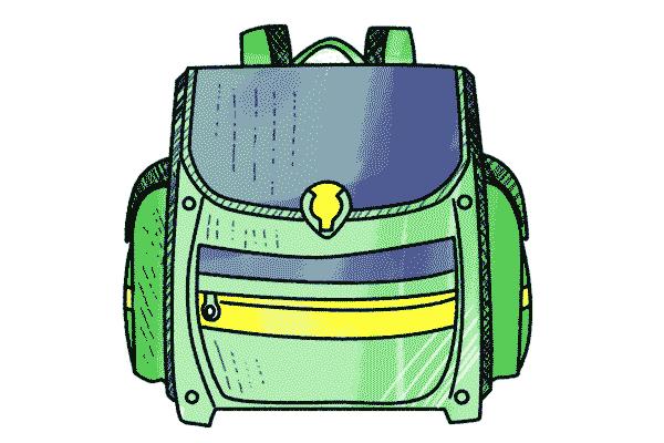 Form und Stabilitaet des Schulranzen