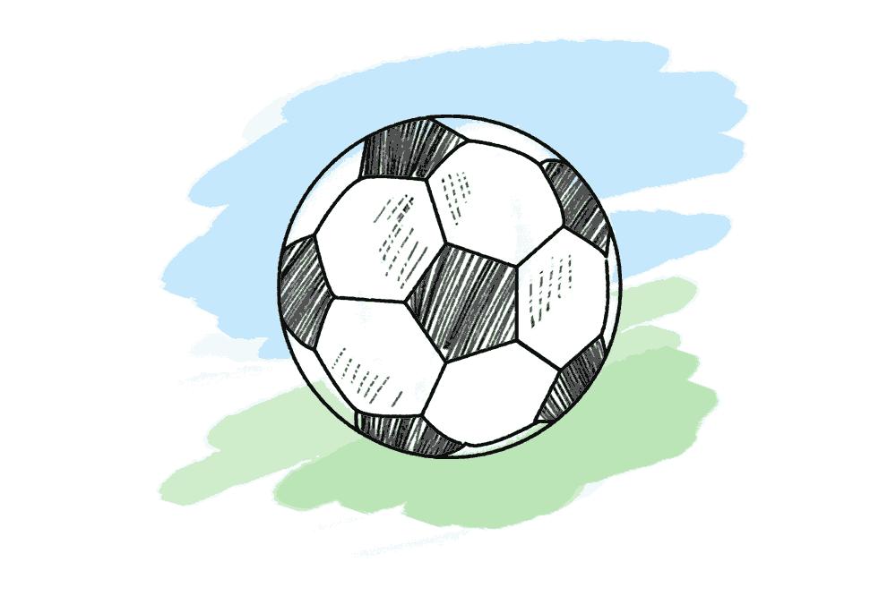 Fussball Schulranzen Motiv