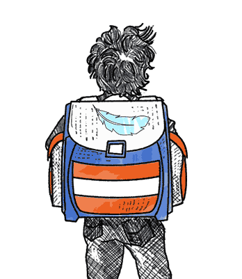 Leichte Schulrucksäcke für Grundschüler