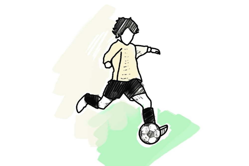 Madrid Schulranzen Fussball Motiv