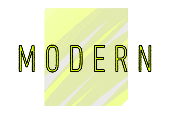 Moderner Schulrucksack