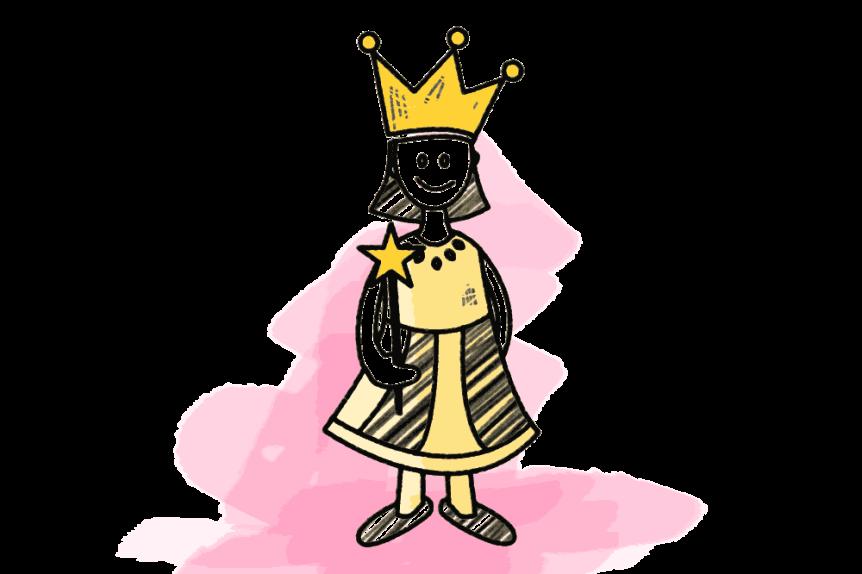Prinzessin Schulranzen Motiv