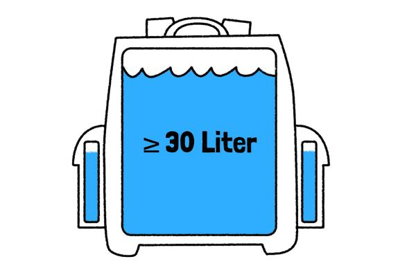 Grosse Schulrucksaecke ab 30 Liter