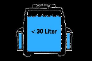 bis 30 liter